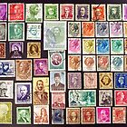Faces on stamps. by FER737NG