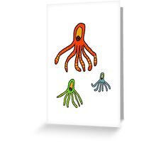Octopus for kids tee Greeting Card