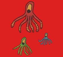 Octopus for kids tee Kids Tee