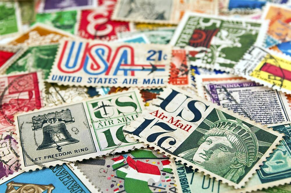 Vintage stamps. by FER737NG