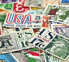 Vintage stamps. by FER737NG
