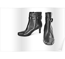 Women's boots. Poster
