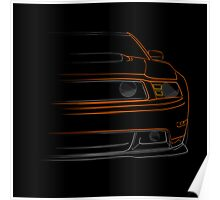 2012 Ford Mustang Boss 302 Poster