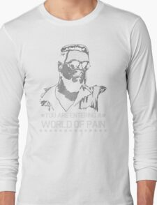 World of Pain Funny Movie Funny Cotton S-XXL Adult T Shirt Long Sleeve T-Shirt