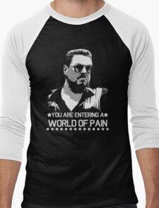 World of Pain Funny Movie Funny Cotton S-XXL Adult T Shirt Men's Baseball ¾ T-Shirt