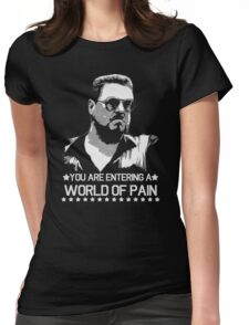 World of Pain Funny Movie Funny Cotton S-XXL Adult T Shirt Womens Fitted T-Shirt