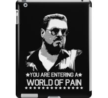 World of Pain Funny Movie Funny Cotton S-XXL Adult T Shirt iPad Case/Skin