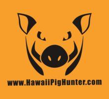 Hawaii Pig Hunter Logo T-Shirt by hawaiipighunter