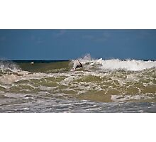 Lennox Heads - Surfing Photographic Print