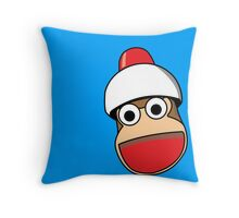 Ape Escape Throw Pillow