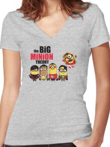 The theory t-shirt funny Mini Banana tee Women's Fitted V-Neck T-Shirt