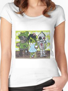 Dorothy of Ozzzombies Women's Fitted Scoop T-Shirt