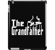 The Grandfather Funny T-shirt Parody Godfather Tee Shirt Grandpa Birthday Gift iPad Case/Skin