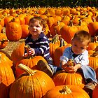 The Boys and the Pumpkins by the57man