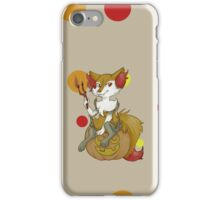 witchy fox iPhone Case/Skin