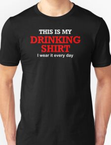 This Is My Drinking Shirt Funny NEW 100% Cotton Drunk Beer Keg T-Shirt T-Shirt