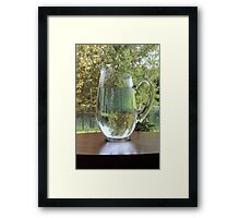 Pitcher Picture Framed Print