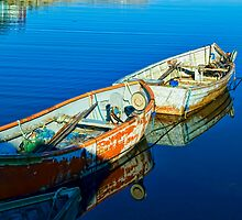 Peggy's Cove Row Boats by kenmo