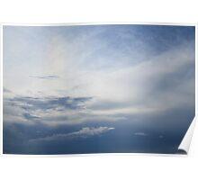 The Ocean Sky Poster