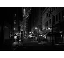 When Night Falls Photographic Print