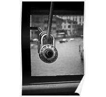 Rialto Bridge love locks Poster