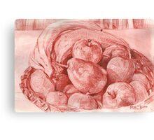 Fruits Still Life Canvas Print
