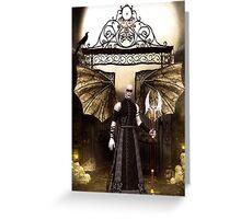 Vampir, Lord of the Night Greeting Card