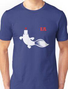 IA White platy with logotype Unisex T-Shirt
