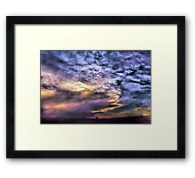 Fall in Plainview Framed Print