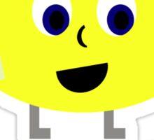 Travelling Lemon Sticker
