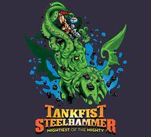 Tankfist Steehammer vs. Cthulhu! Unisex T-Shirt