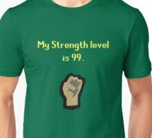 Runescape Strength Tshirt Unisex T-Shirt