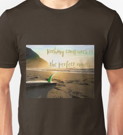 The Perfect Wave, surf art Unisex T-Shirt