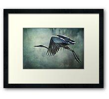 The Great Blue Heron Framed Print