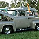 Classic 1956 Ford F100 - Cruise Night - Oakland Beach - RI by Jack McCabe