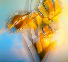 Lamplight : Color Abstract by Richard Earl