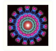 Fractal Petals Art Print