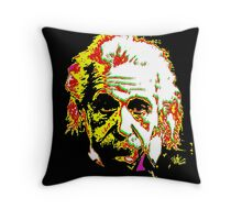 Albert the great Throw Pillow
