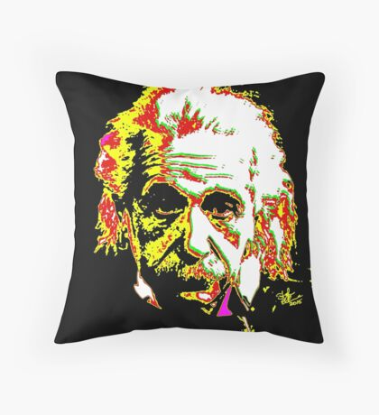 Albert the great Throw Pillow