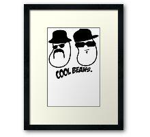 Cool Beans Gangsta Framed Print