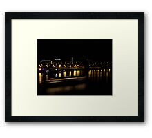 Duna by night Framed Print