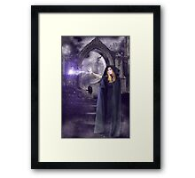 The Spell is Cast Framed Print
