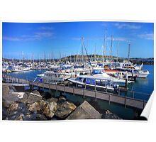 Coffs Harbour Marina Poster