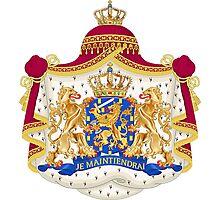 Je Maintendrai - Nederland - Coat of Arms Photographic Print
