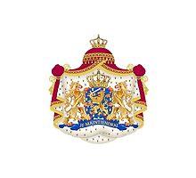 Je Maintendrai - Nederland - Coat of Arms by TJ Devadatta Best