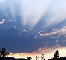Sunset in Pritchard BC by KansasA