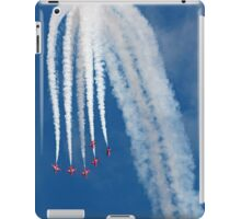 The Red Arrows downwards formation iPad Case/Skin