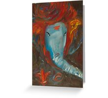 Lord Ganesh-God of Luck Greeting Card