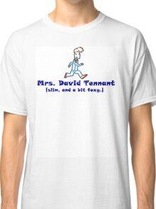mrs. david tennant. Classic T-Shirt