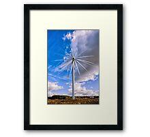 Scottish Wind! Framed Print